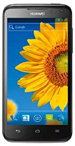 Huawei Ascend D1 Quad XL Smartphone (11,4 cm (4,5 Zoll) Touchscreen, 8 Megapixel Kamera, 8 GB Interner Speicher, Android 4.0) schwarz