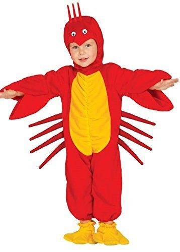 baby-girls-boys-red-lobster-sea-creature-ocean-animal-fancy-dress-costume-outfit-6-12-months