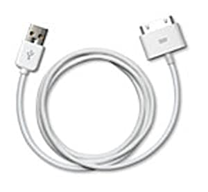 Apple Dock Connector to USB 2.0 Cable (White)
