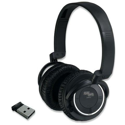 Cobra 10311 Zaffiro Cuffie per PC, Smartphones, Tablet, Ricaricabile
