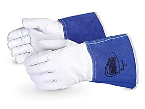 Superior 370GFKL Precision Arc Goatskin Leather TIG Welder Glove with Kevlar Lining, Work, X-Large (Pack of 1 Pair) by Superior Glove Works Ltd