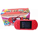 YANX® Handheld Video Game Console PXP 3 PVP 16bit Game Player for Children Gifts RED
