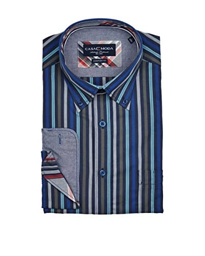 Casamoda Camisa Hombre Fit Azul