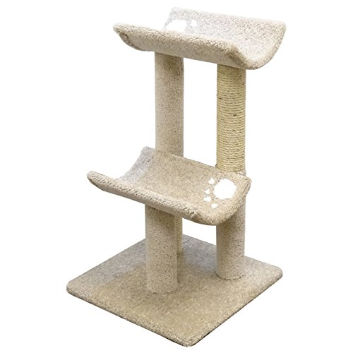 New Cat Condos Premier Double Cat Perch, Beige