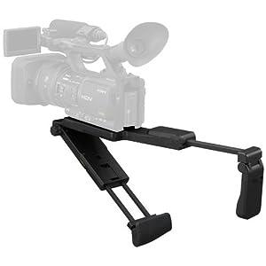Crosse d'épaule / stabilisateur pour caméra / caméscope / DSLR Nikon. Remplace D2, D3, D4, D40, D60, D90, D100, D200, D300, D600, D800, D900