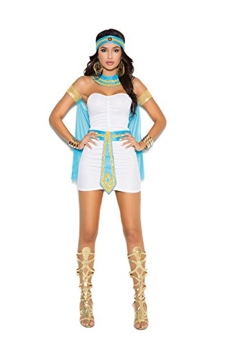 Ancient Hot Times Queen of the Nile Halloween Roleplay Costume 5pc Set