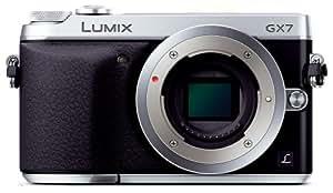 Panasonic ミラーレス一眼カメラ ルミックス GX7 ボディ シルバー DMC-GX7-S