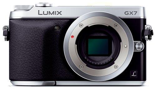 Panasonic デジタル一眼カメラ ルミックス GX7 ボディ シルバー DMC-GX7-S