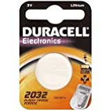 "DURACELL pile bouton lithium ""Electronics"" CR2032"