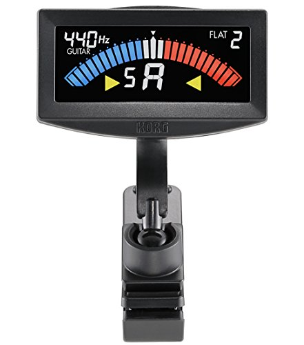 KORG guitar and bass for clip-on tuner Pitch Crow-G AW-4G-BK Black
