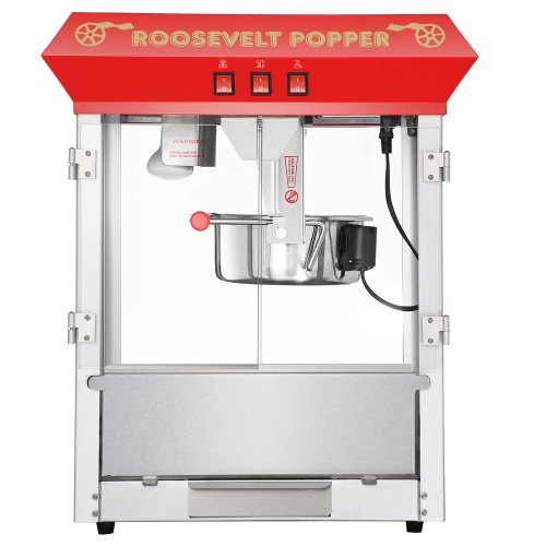 great northern popcorn 6010 roosevelt top antique style popcorn popper machine 8 ounce