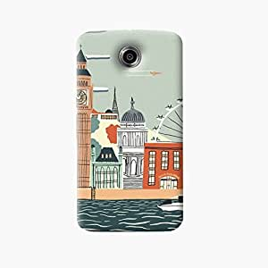 The Fappy Store london stylish printed hard back case for google nexus 6