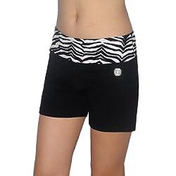 Balance Collection Womens Comfortable Casual-Wear Yoga Shorts