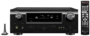 Denon AVR-991 7.2-Channel Networking Multi-Source/Multi-Zone A/V Home Theater Receiver with HDMI 1.4a supporting 1080p and 3D (Black) (Discontinued by Manufacturer)