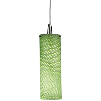 Forecast F5145nv Marta Pendant Kit Marta Green Glass