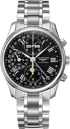 NEW LONGINES MASTER COLLECTION MENS WATCH L2.773.4.51.6