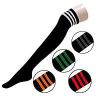 Zeagoo Women's Thigh High Stripe Sock…