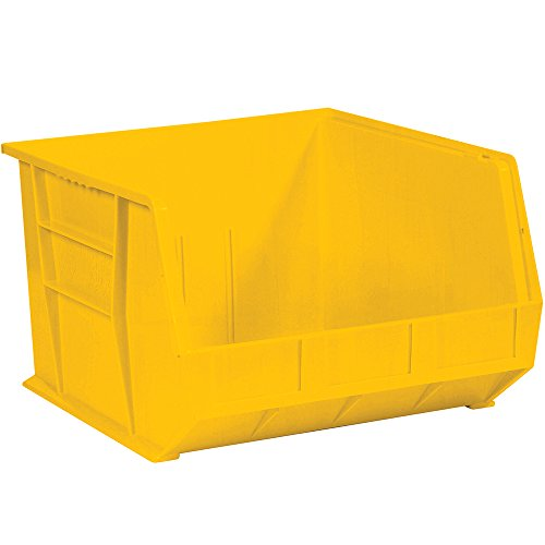 Aviditi BINP1816Y Plastic Stack and Hang Bin Box, 18