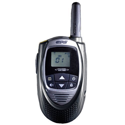 CPS CP101 Walkie Talkie FRS (Owner of US Design Patent,Will Take Legal Action To Stop Infringing Product T228) (Black)(1 Piece)