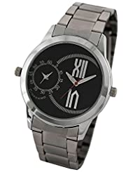 Giordano Analog Black Dial Men's Watch - 60073 Black - P12402