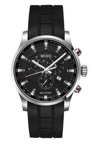 mido-m0054171705120-watch-multifort-mens-black-dial-stainless-steel-case-quartz-movement