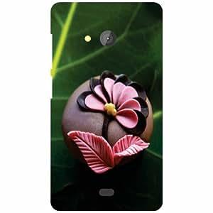 Printland Phone Cover For Microsoft Lumia 540 Dual SIM