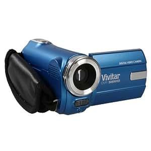 Vivitar DVR508NHD-BLU-INT Caméscope 5 Mpix Zoom 4x Bleu