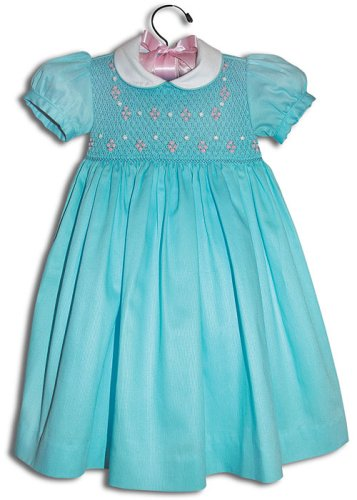 Gianina Hand smocked girl turquoise blue party dress - Size 5 - Buy Gianina Hand smocked girl turquoise blue party dress - Size 5 - Purchase Gianina Hand smocked girl turquoise blue party dress - Size 5 (Farfallina For Kids, Farfallina For Kids Dresses, Farfallina For Kids Girls Dresses, Apparel, Departments, Kids & Baby, Girls, Dresses, Girls Dresses, Baby Doll & Sundresses)