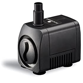 Sunterra 120016 Large Fountain Pump, 200 GPH, Black