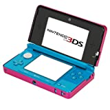 GTMax Hot Pink Aluminum Hard Metal Cover Case for Nintendo 3DS