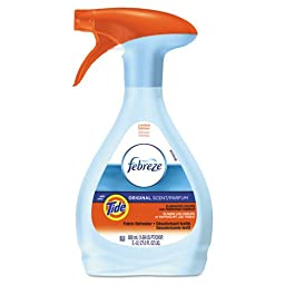 27 oz. Febreze Fabric Refresher Odor Eliminator, Tide Original (5 Bottles) - BMC-PGC 94614EA