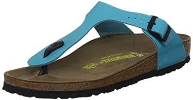 Birkenstock Gizeh, Women's Sandals, Blue, 2 UK