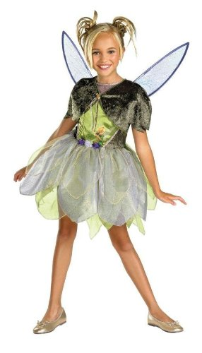 Costumes For All Occasions Dg50433K Tinker Bell Deluxe 7-8