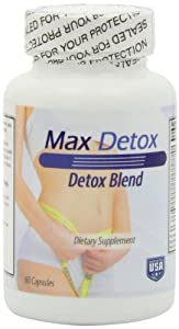 Max Detox-Advanced Detox Blend! New and Much Improved Version our Former Best Seller Colo Cleanse Pro. Gentle, Yet Powerful Blend 12 All Natural Ingredient
