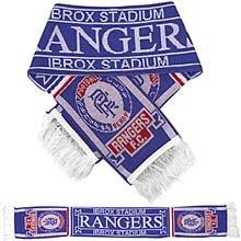 Rangers Soccer Team Scarf