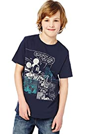 Pure Cotton Mickey Mouse Comic T-Shirt