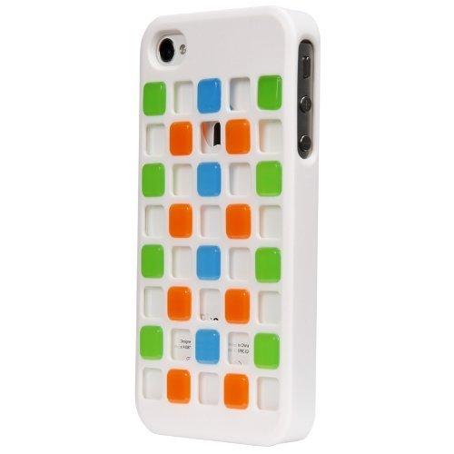 X-Doria Cubit & Schutzhülle für iPhone 4 iPhone 4S (weiß) - 404099