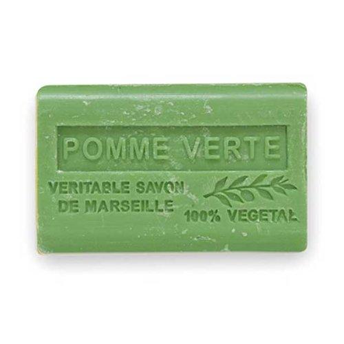 (南仏産マルセイユソープ)SAVON de Marseille 青りんごの香り(SP024)(125g)