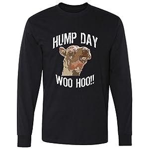 hump day woo hoo camel face Long Sleeve T-Shirt