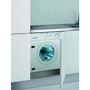 Whirlpool AWOD 051 - Lavadora (Incorporado, Color blanco, Frente, 7 kg, 1000 RPM, A)