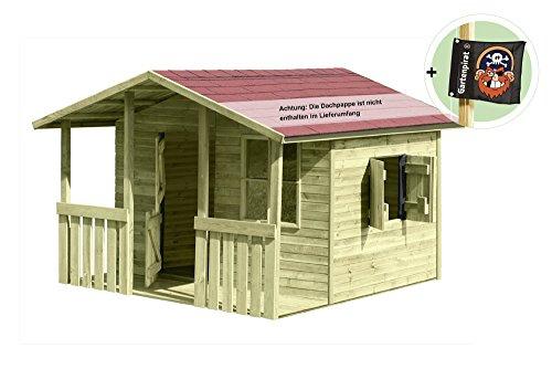 Kinderspielhaus Holz Hochwertig ~ Kinderspielhaus mit Veranda  Großes Kinderspielhaus Lisa