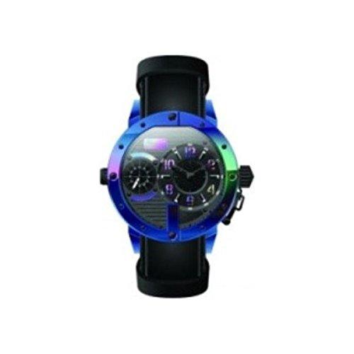 Jean Paul Gaultier Hombre Reloj de pulsera analógico cuarzo piel 8500406