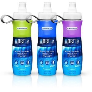 Brita® Bottle Water Filtration System with 6 Filters (3pk)