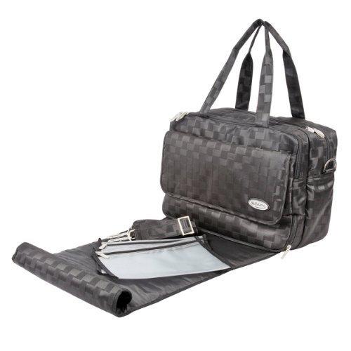 Mabyland Luxury Maxi Elite Changing Bag Set (Black) by MaByLand