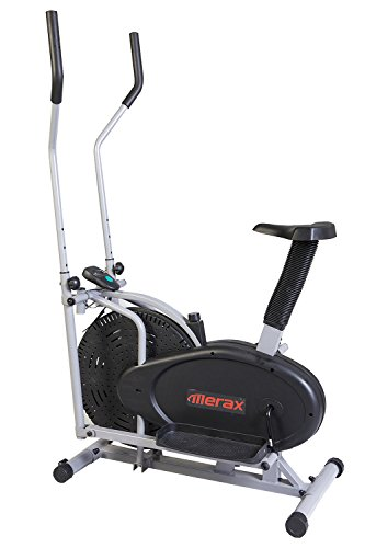 Merax® Elliptical Exercise Bike Fitness Machine Cardio Training