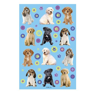 Party Pups Stickers 2 Sheets - 1