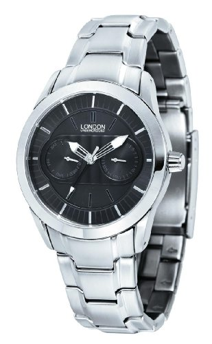 Mens Stainless Steel Dress Watch by London Underground LU-101018-A