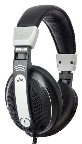 Vm Audio Srhp9 Stereo Mp3/Iphone Ipod Over Head On Ear Headphones - Black/Silver