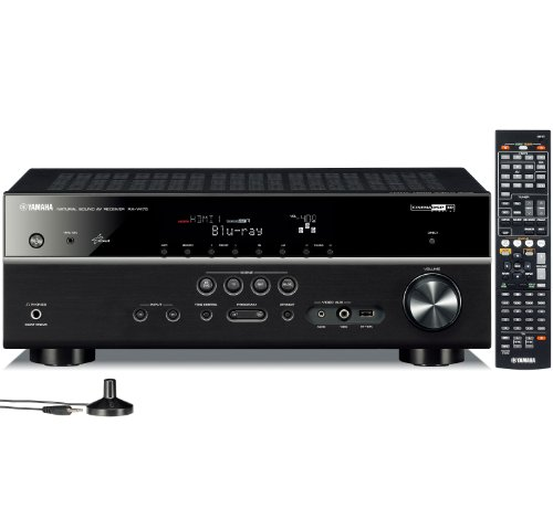 Yamaha RX-V475 5.1-Channel Network AV Receiver with Airplay