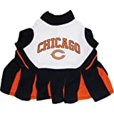 Mirage Pet Products Sports Dog Apparel Pet Costume Chicago Bears Cheerleading Dress Uniform MD